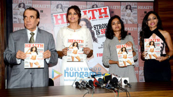 Bipasha Basu unveils Health's latest magazine cover