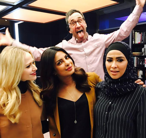 Check out Priyanka Chopra poses with her Powerpuff girls on sets of Quantico