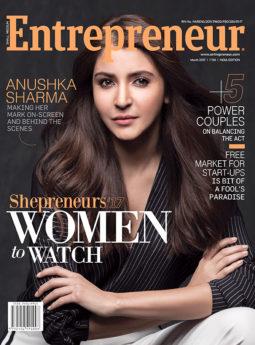 Anushka Sharma On The Cover Of Entrepreneur