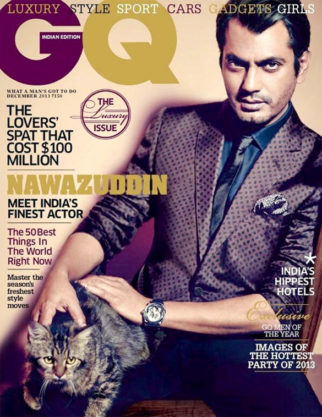 Nawazuddin Siddiqui On The Cover Of GQ