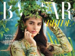 Aditi Rao Hydari On The Cover Of Harpers Bazaar Bride, Mar 2017