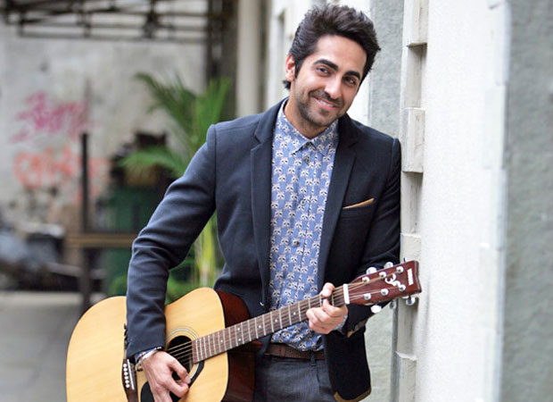 Here's why Ayushmann Khurrana ended up singing on the sets of his forthcoming film news
