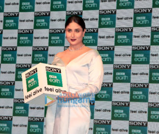 Kareena Kapoor Khan launches the factual entertainment channel Sony BBC Earth