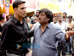 On The Sets Of The Movie Naam Shabana
