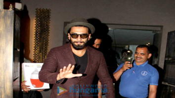 Ranveer Singh, Anushka Manchanda & Anusha Dandekar snapped at Out of the Blue