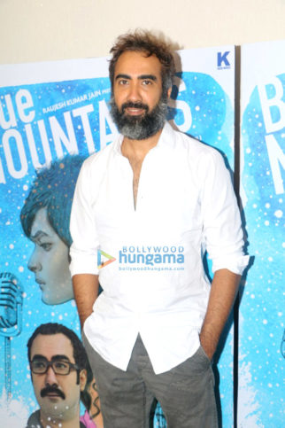 Ranvir Shorey at 'Blue Mountain' movie media meet