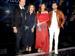 Shilpa Shetty & Farah Khan snapped on the sets of Indian Idol