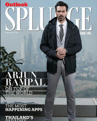 Arjun Rampal On The Cover Of Splurge