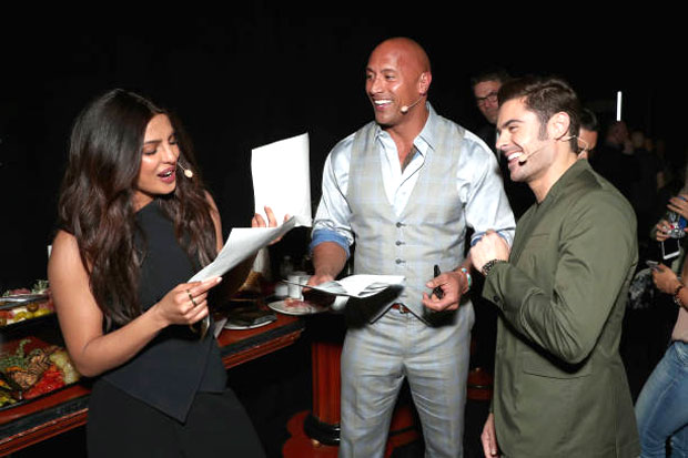 Watch Priyanka Chopra jams to Britney Spears' 'Oops! I Did Again' during Baywatch promotions with Dwayne Johnson and Zac Efron2