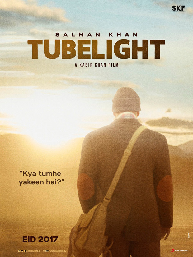 """Kya tumhe yakeen hai"" … Salman Khan on first poster of Tubelight"
