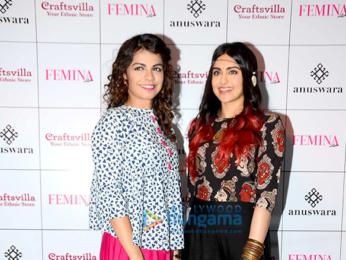 Adah Sharma at Craftsvilla fashion showcase