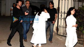 Anil Kapoor and Padmini Kolhapure snapped in Bandra
