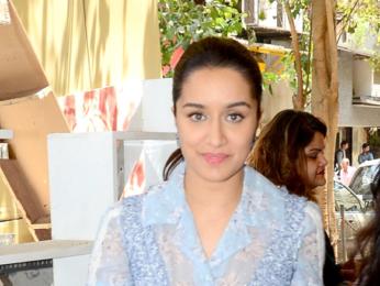 Arjun Kapoor & Shraddha Kapoor snapped at 'Half Girlfriend' promotions