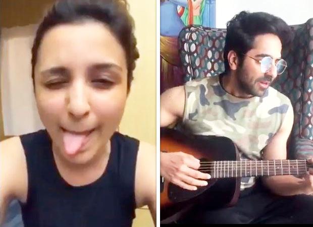 Ayushmann Khurrana and Parineeti Chopra's acoustic version of 'Afeemi' from Meri Pyaari Bindu is weaving magic