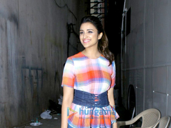 Ayushmann Khurrana and Parineeti Chopra promote the film 'Meri Pyaari Bindu'