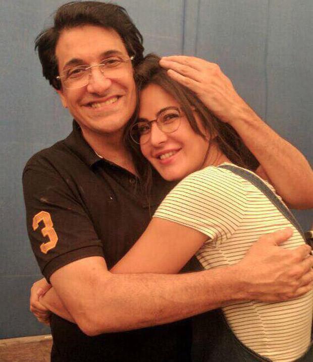 Check out Katrina Kaif hugs Shiamak Davar on the sets of Jagga Jasoos
