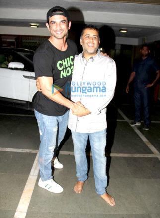 Sushant Singh Rajput, Shraddha Kapoor and Arjun Kapoor grace Chetan Bhagat's birthday bash