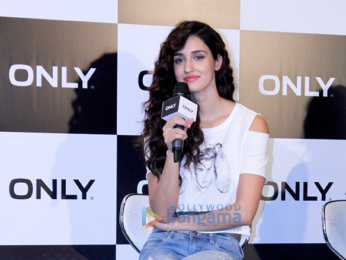 Disha Patani at the launch of Justin Bieber collection by Only India