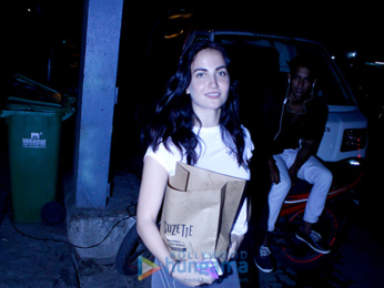 Elli Avram snapped at Kitchen Garden