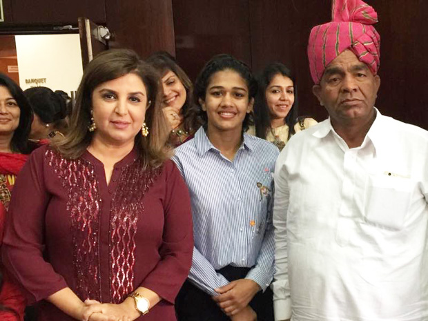 Farah Khan meets the Phogat family of Dangal fame