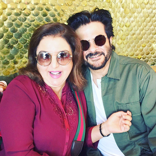 Farah Khan reveals why Anil Kapoor partially hides his face in pictures