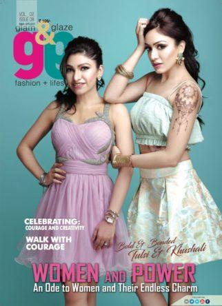 Tulsi Kumar, Khushali Kumar On the covers Glam & Glaze