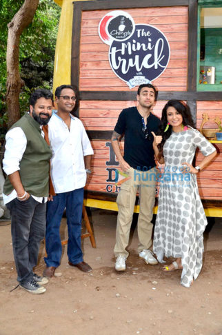 Imran Khan and Nikhil Advani shoot for 'The Mini Truck' show