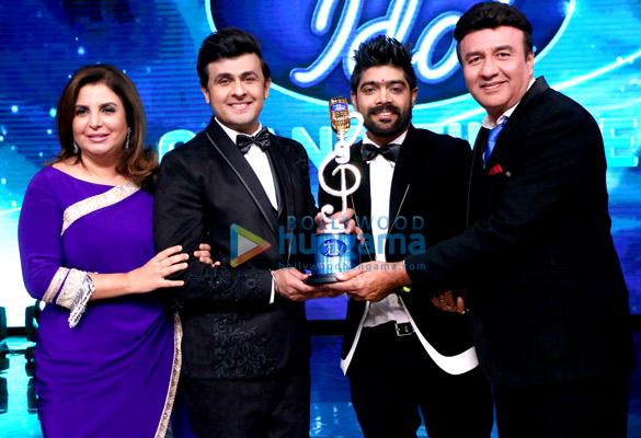 Celebs grace the prestigious title of 'Indian Idol 9 LV Revanth'