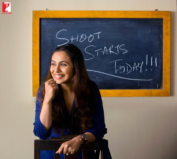 Rani Mukerji begins shooting for Hichki features