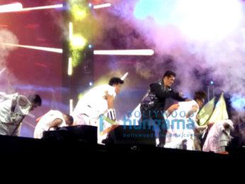 Salman Khan rehearsing for 'Dabangg Tour Hungama' in Hong Kong