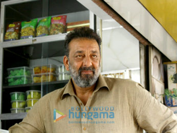 Sanjay Dutt shoots for 'Bhoomi'