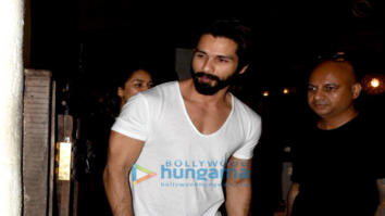Shahid Kapoor and Mira Rajput Snapped post salon session in bandra