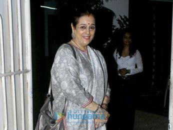 Shatrughan Sinha & Poonam Sinha grace 'Noor' screening