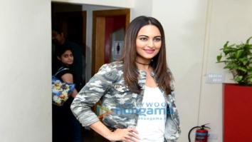 Sonakshi Sinha promotes her film 'Noor' in Noida, Delhi