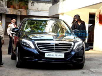 Sonam Kapoor snapped post a meeting in Bandra