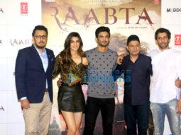 Sushant Singh Rajput & Kriti Sanon grace the trailer launch of 'Raabta'