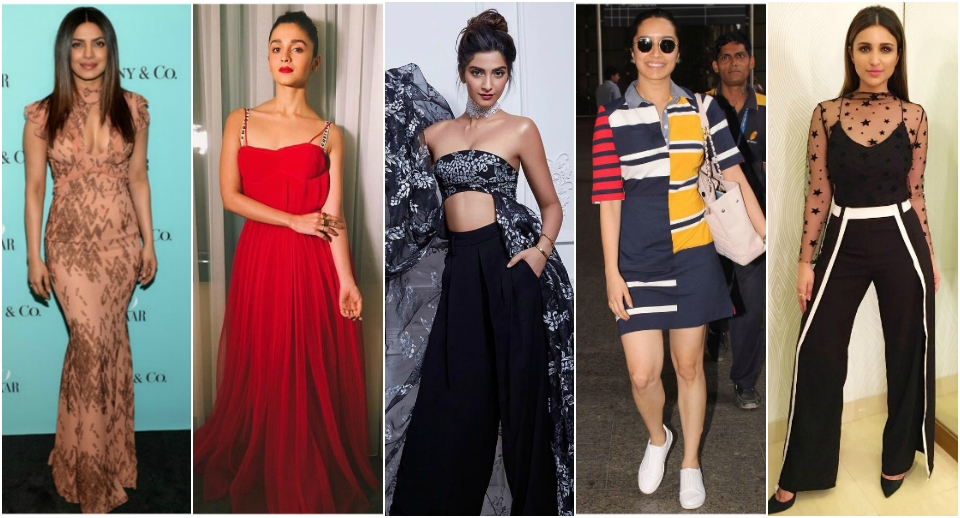 Top 10 Bollywood stylish actresses of the week
