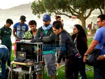 On The Sets Of The Movie Adityam