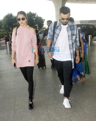 Anushka Sharma, Virat Kohli, Ranbir Kapoor, Kangna Ranaut and others snapped at the airport