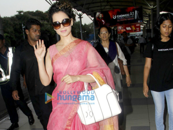 Anushka Sharma, Virat Kohli, Ranbir Kapoor, Kangna Ranaut and others snapped at the airport