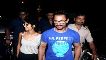 Bollywood biggies at Karan Johar's 45th birthday bash at his house in Bandra