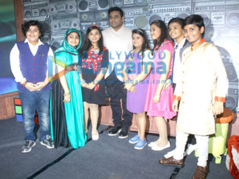 Sridevi and AR Rahman snapped promoting the film 'Mom' on Zee Lil champs