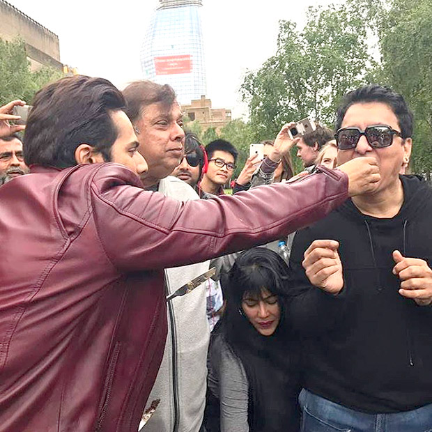 Check out It's a wrap for Varun Dhawan and Judwaa 2 in London-2