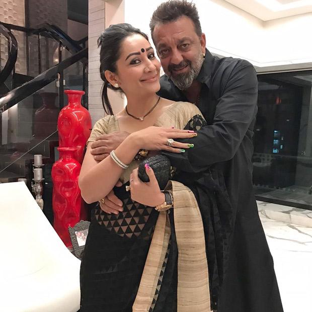 Sanjay Dutt dan istri
