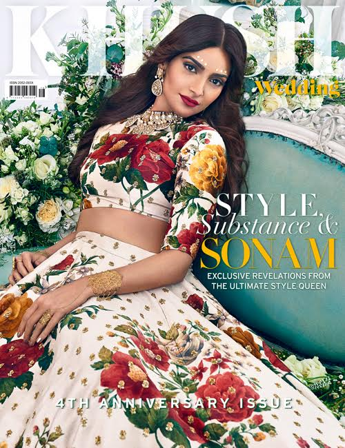 Check out Sonam Kapoor looks regal on the cover of Khush Wedding magazine