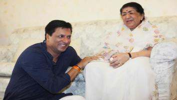 Classic! Madhur Bhandarkar visits Lata Mangeshkar and family-1