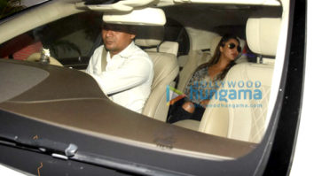 Gauri Khan, Sussanne Roshan & Maheep Kapoor snapped post dinner at Karan Johar's house