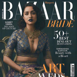 Shraddha Kapoor On The Cover Of Harper's Bazaar, May 2017
