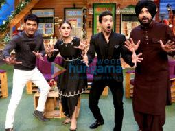 Huma Qureshi & Saqib Saleem promote their film Doobara on The Kapil Sharma Show