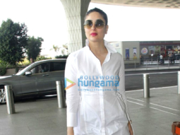 Kareena Kapoor Khan, Anushka Sharma, Esha Gupta and Amrita Arora snapped at the airport